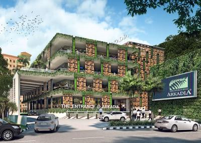 Arkadia-Green-Office-The-Entrance